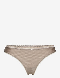 Bottoms - string - light taupe