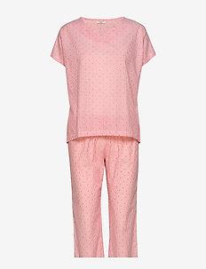 Pyjamas - pyjamas - coral red