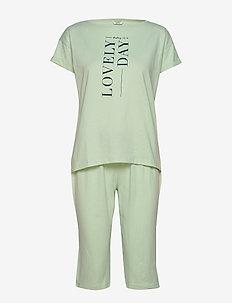 Pyjamas - LIGHT AQUA GREEN