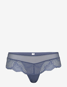Bottoms - culottes taille basse - blue lavender