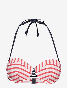 Beach Tops with wire - góry strojów kąpielowych - pink fuchsia