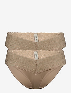 Bottoms - culottes et slips - nude