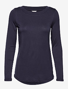 Night-T-Shirts - tops - navy