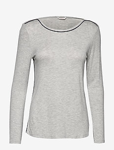 Night-T-Shirts - tops - light grey