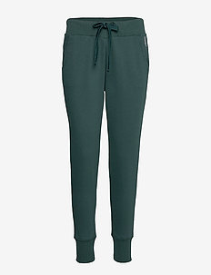 Pants knitted - DARK TEAL GREEN