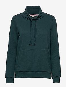 Sweatshirts - DARK TEAL GREEN