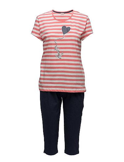 Pyjamas - CORAL ORANGE