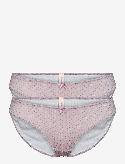 Bottoms - briefs - lavender