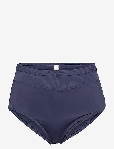 Beach Bottoms - højtaljede bikiniunderdele - navy 2