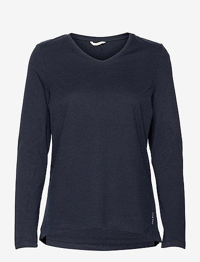 Night-T-Shirts - langærmede toppe - navy