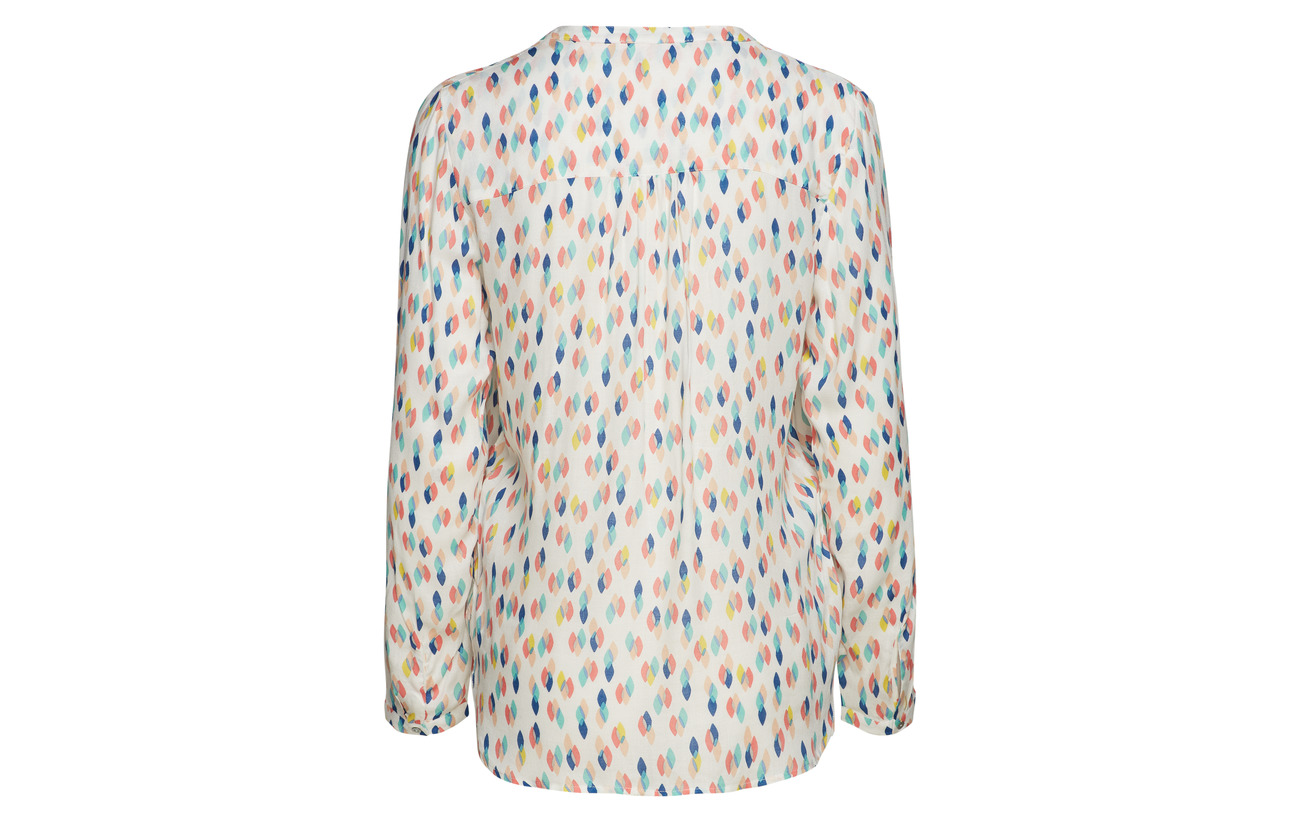 Off Blouses 100 Viscose Woven 2 Esprit Casual White F1qUZxqnS