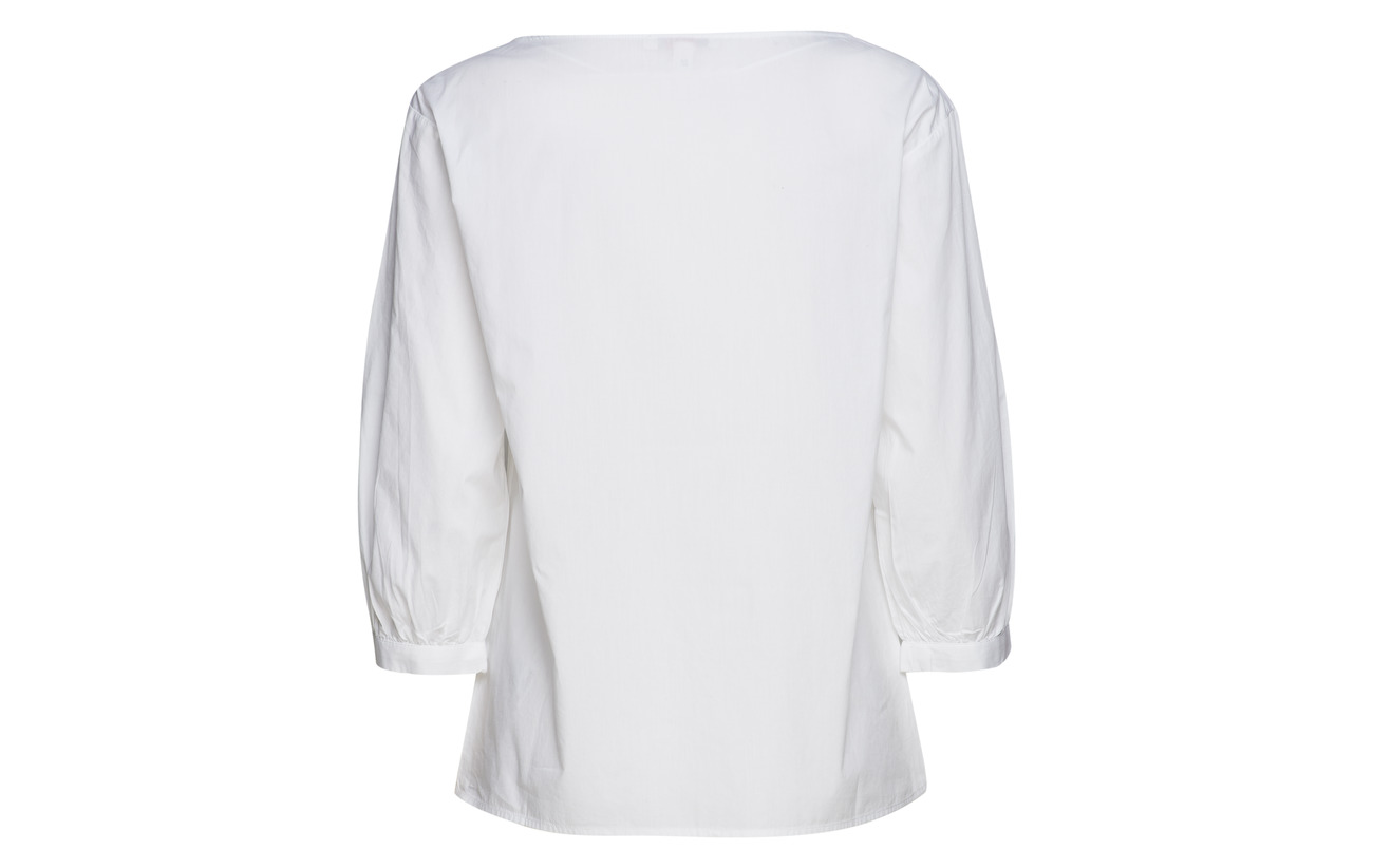 100 Coton Blouses Casual White Esprit Woven AT7Iqn6S