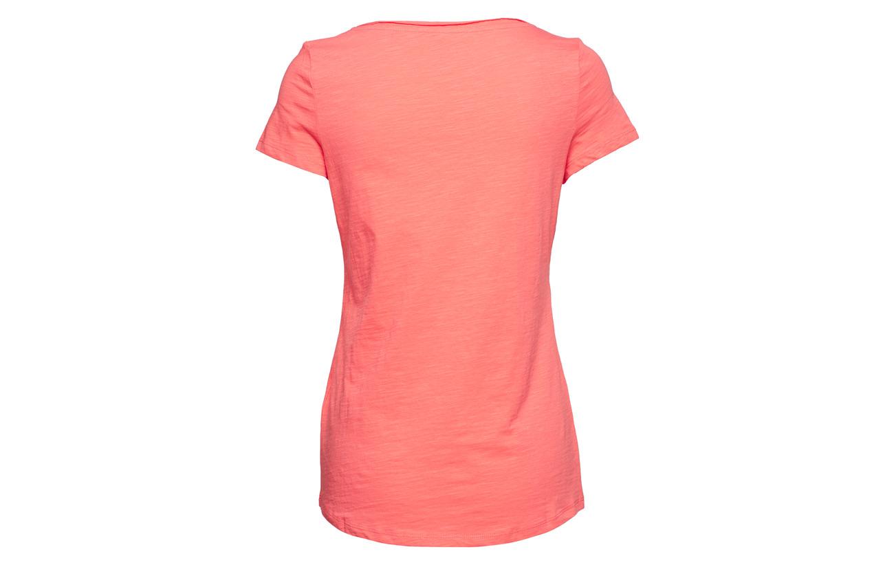 T Coral shirts 100 Esprit Casual Coton nYwTp5Zq