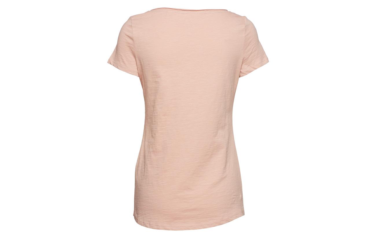 Coton White 100 shirts Off Casual T Esprit 7qxzp8