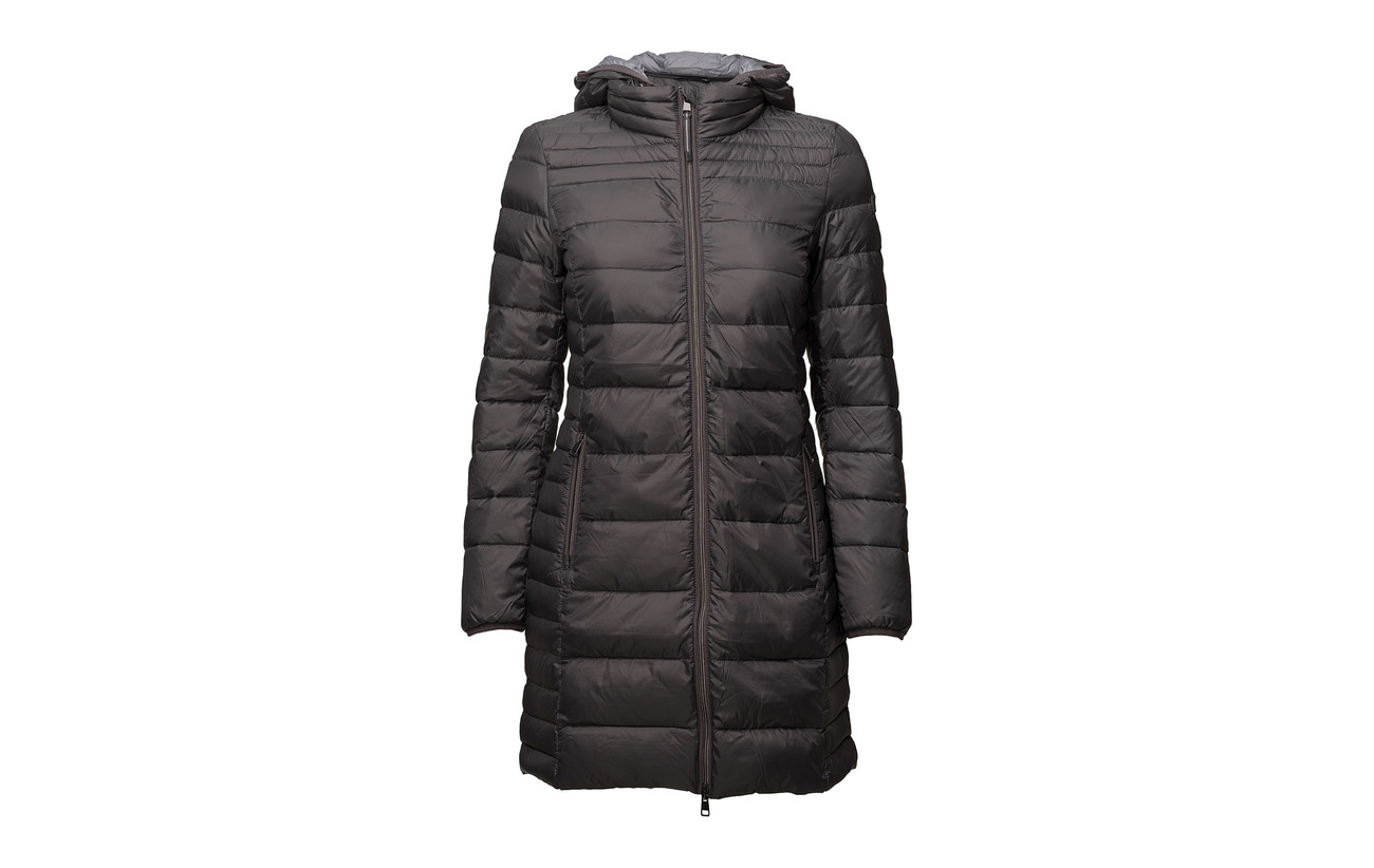 Woven Esprit 100 Polyester Casual Coats Navy PPZq68x
