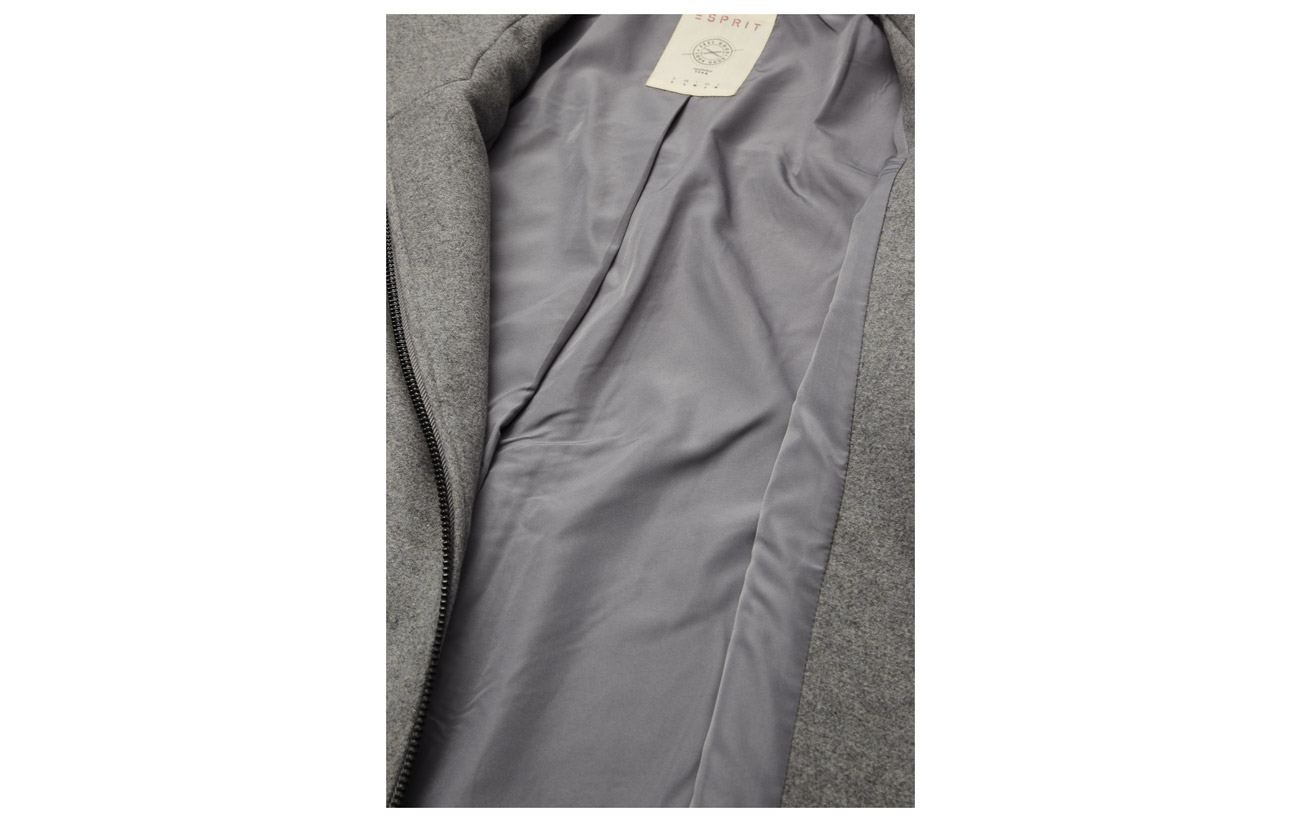 Polyester Polyacrylonitrile Casual Polyamide Outdoor Viscose Woven 5 41 Light Jackets 50 Esprit Grey 5 2 Laine Tq4nvfgqW