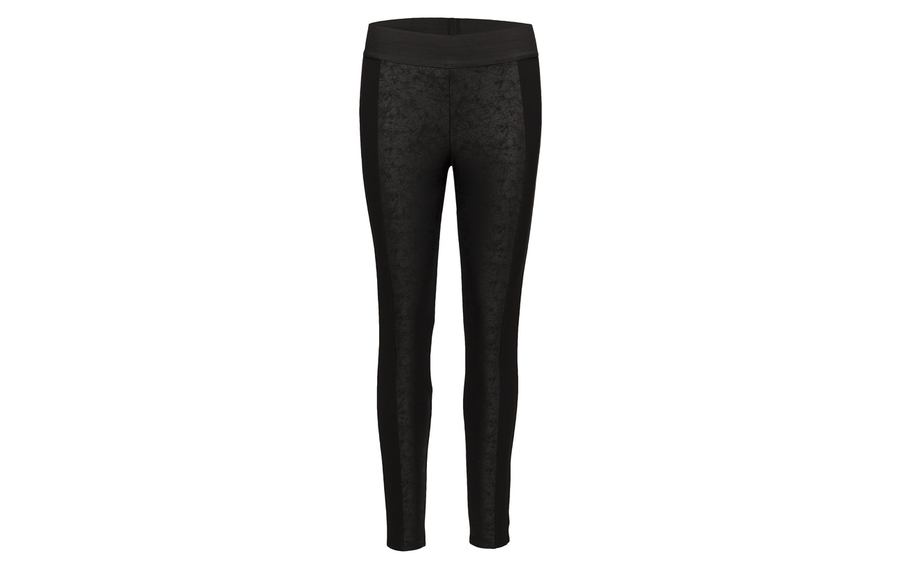 Polyamide 25 5 Elastane Esprit Pants Black 70 Knitted Viscose Casual x7Ywq07S