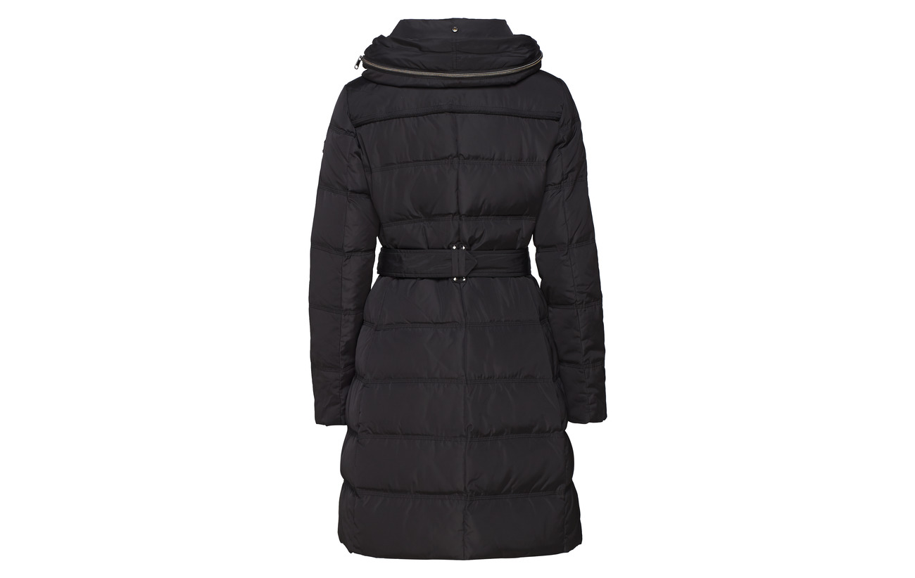 Woven Esprit Coats Black Casual Polyester 100 4EpEqxZr