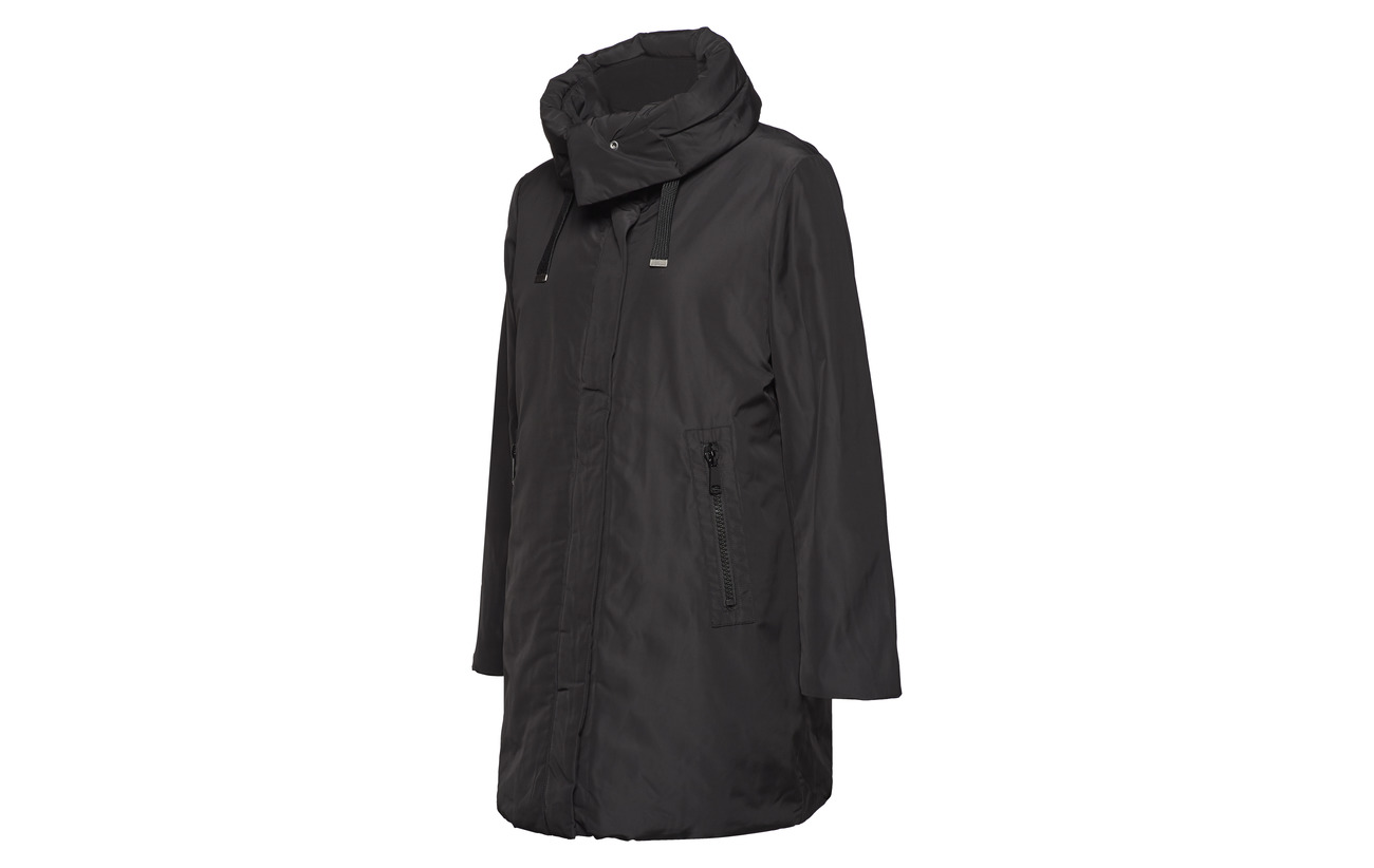Esprit 100 Casual Woven Coats Polyester Black U8UTrx0
