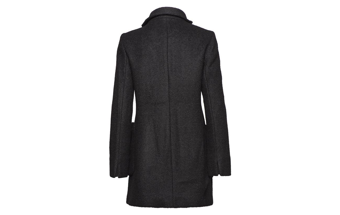 Laine 40 60 Black Coats Polyester Esprit Woven Casual xY0qgnwIHa