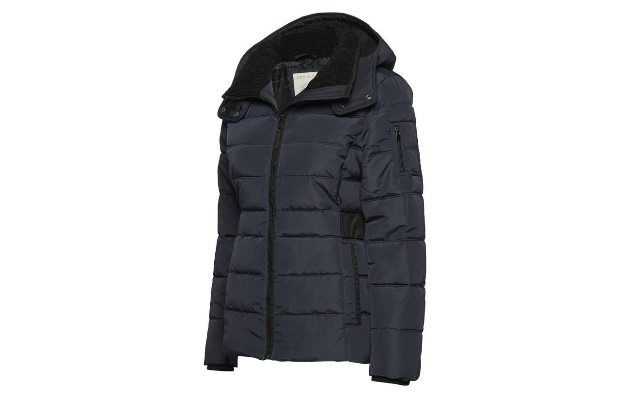 Outdoor Brown Woven 100 Jackets Esprit Casual Polyester Dark wqHxZ4vE