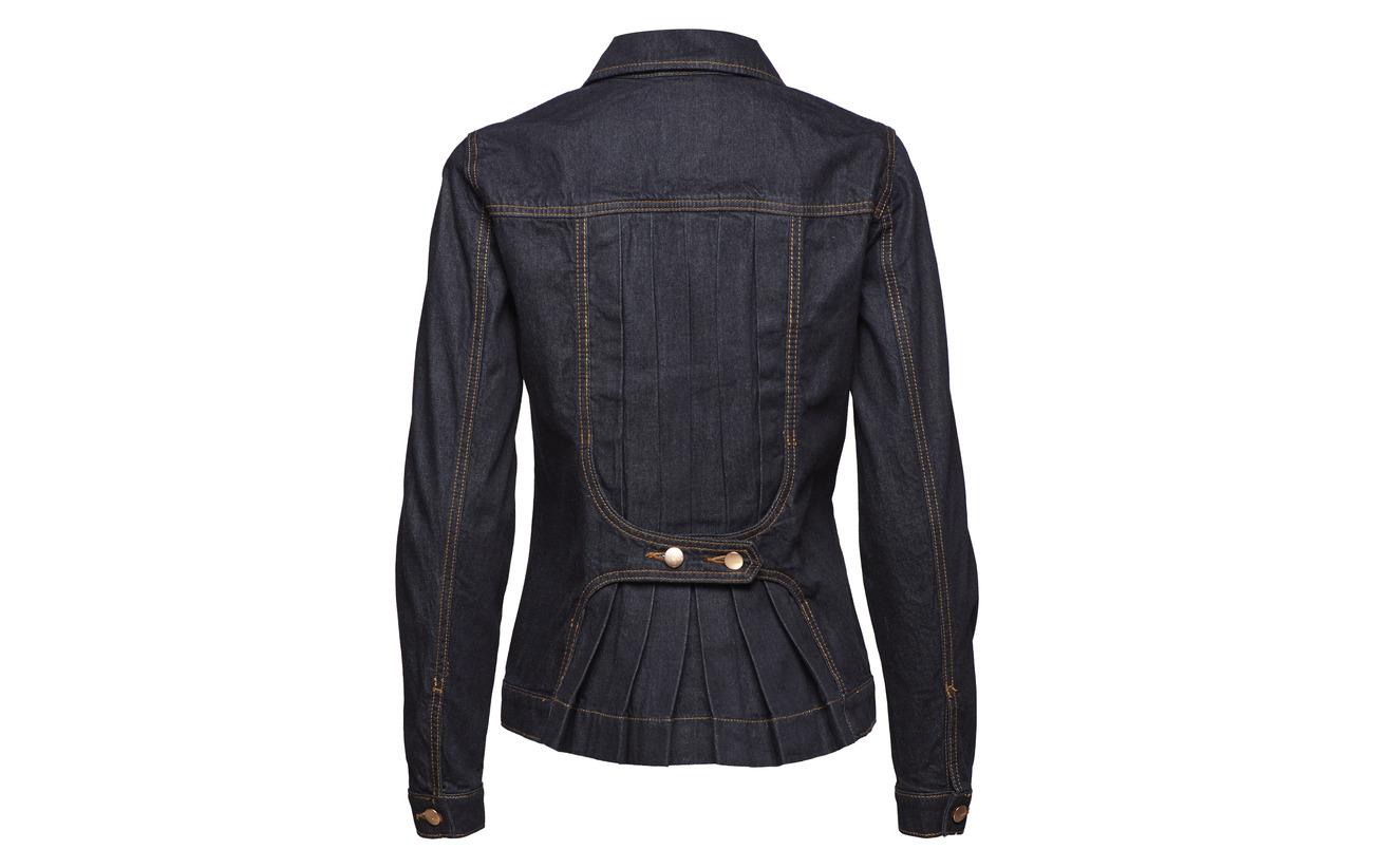 Jackets Esprit Denim Indoor 100 Rinse Blue Coton Casual pwqUwvS