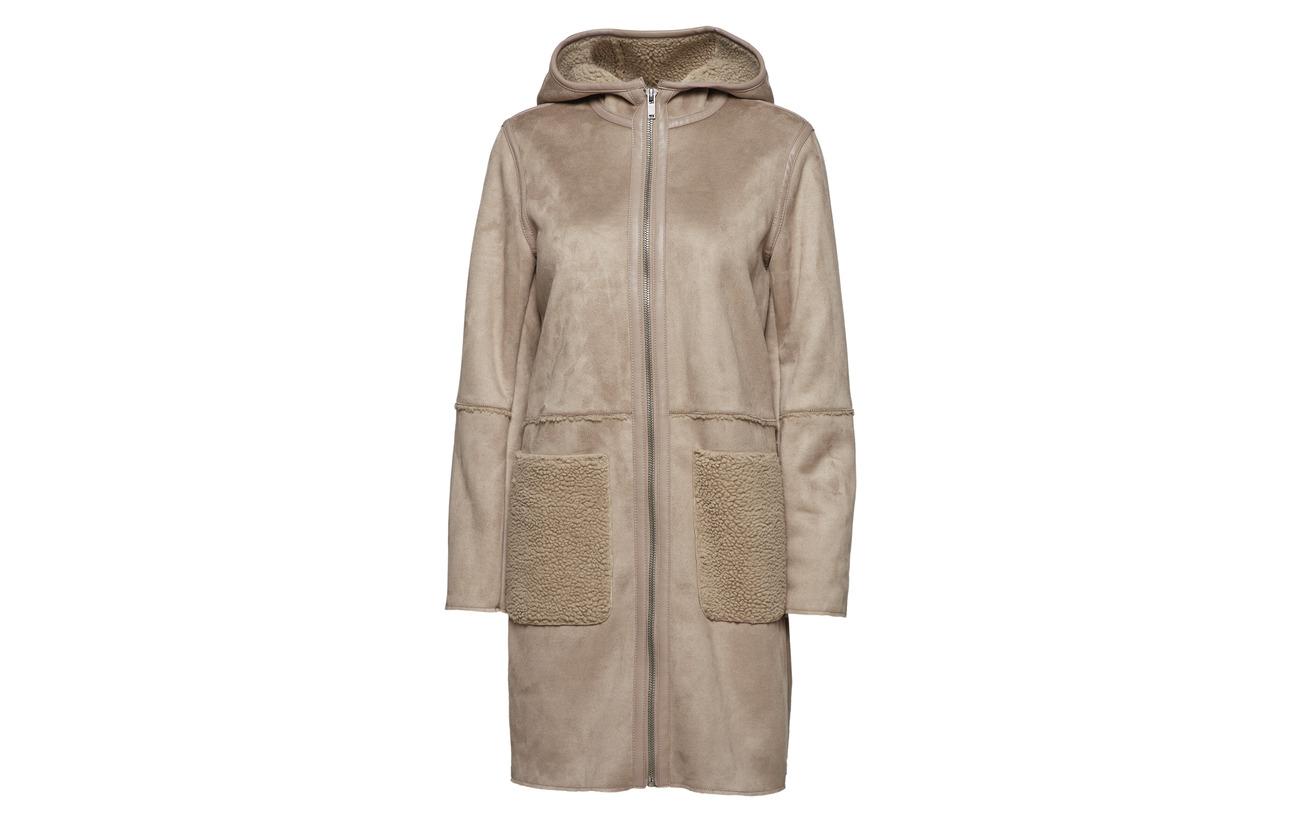 Casual Woven Esprit 100 Coats Polyester Navy RqP7AwT