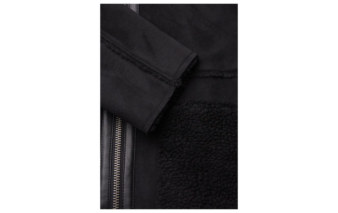 100 Casual Esprit Polyester Coats Woven Black IPH4Cawq