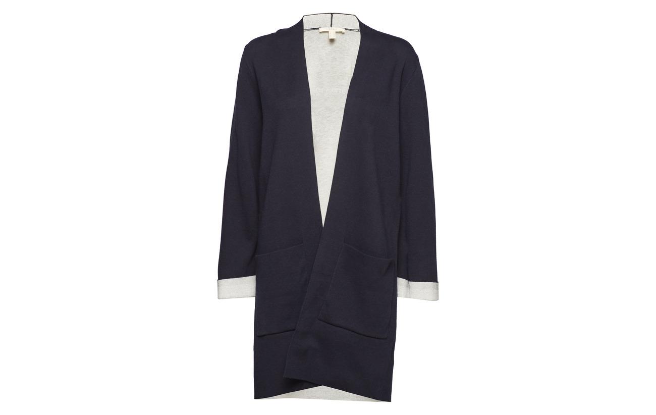 5 Sweaters Casual Coton Cardigan Dark 90 Grey Elastane Polyamide 8 Esprit 2 R7BXq5ww