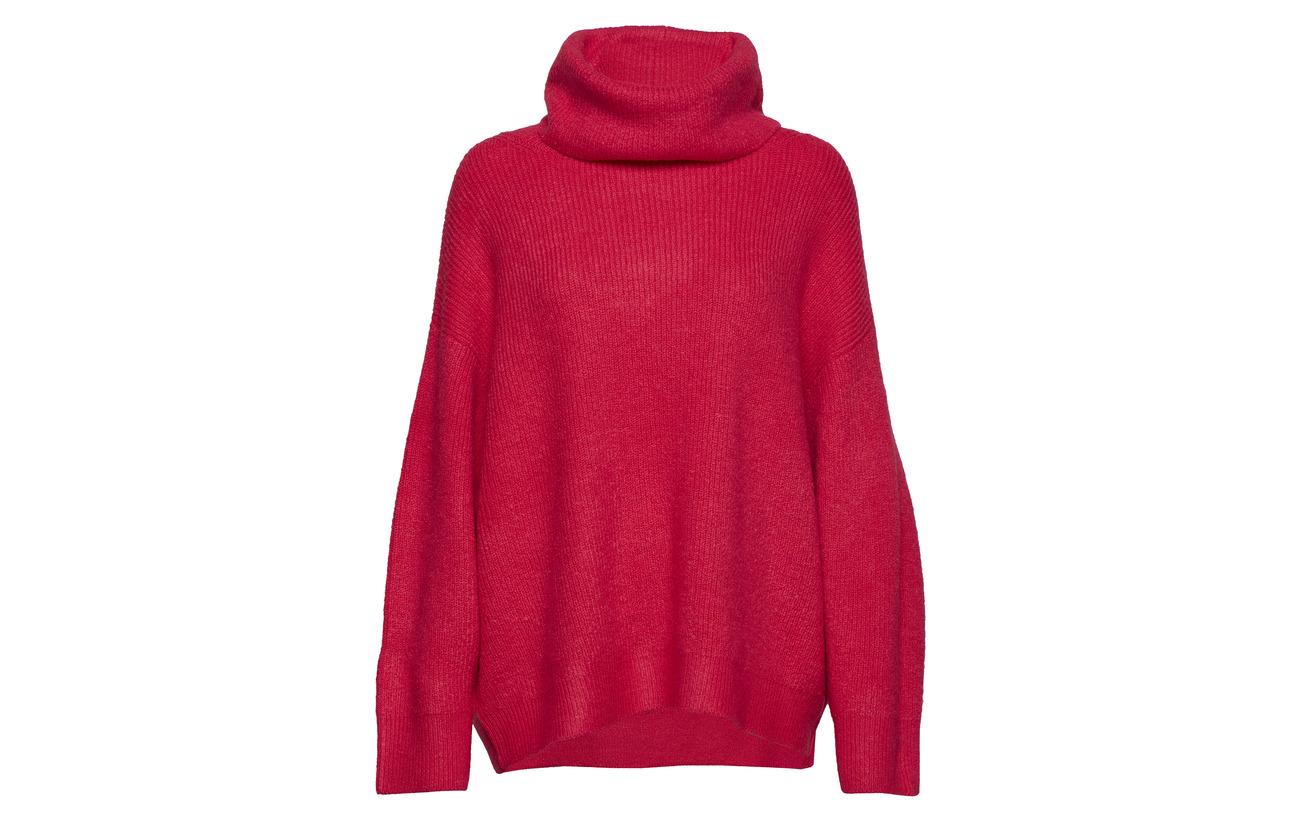 Elastane Laine Sweaters Polyacrylonitrile Esprit Dark Polyamide 10 2 Casual 78 Pink vqqfwP1U