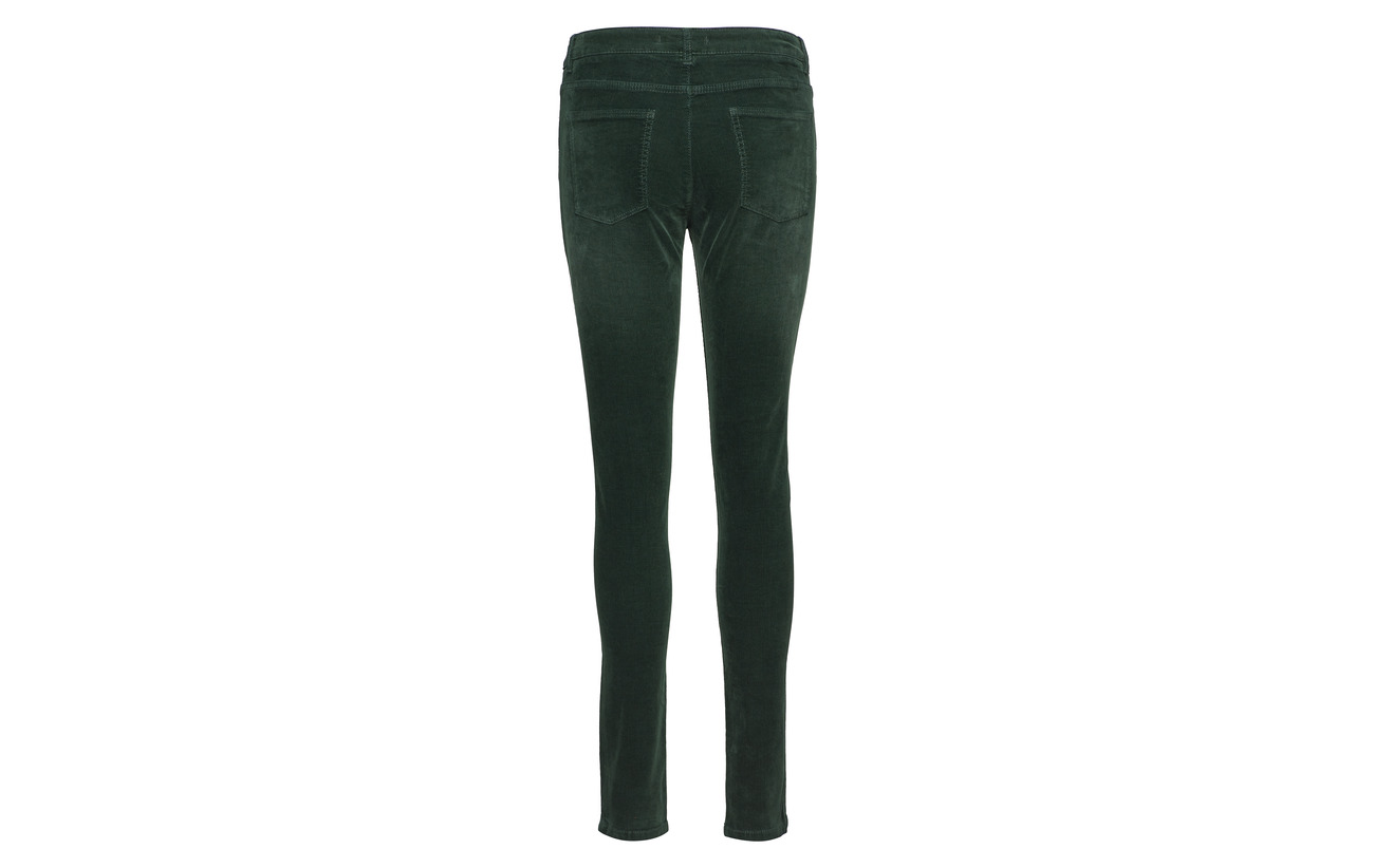 Coton Bottle Pants Esprit 8 Casual Elastomuliester Elastane Woven 2 Green 90 qaS1U