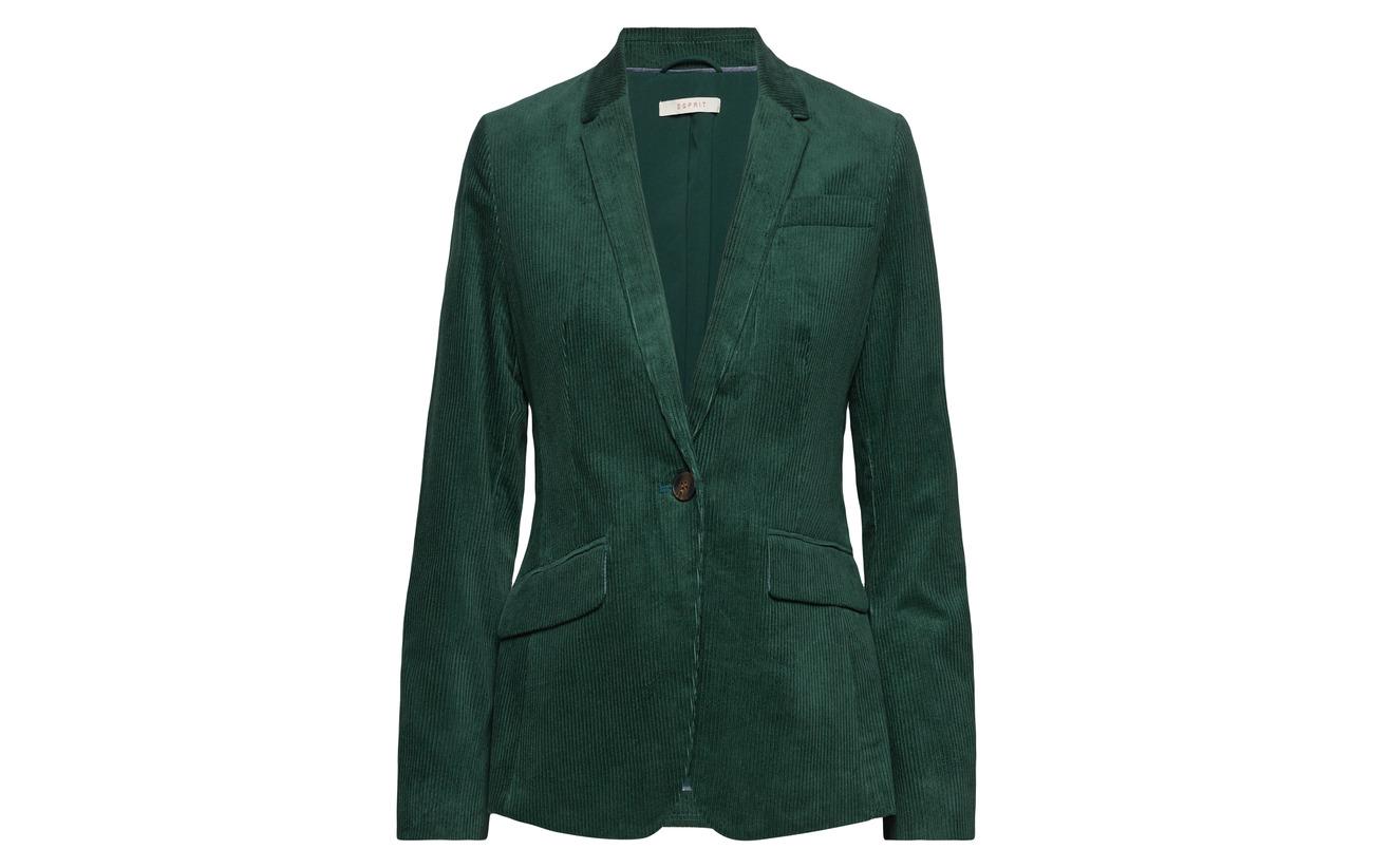 98 Elastane 2 Woven Coton Blazers Navy Esprit Casual p8zIwI