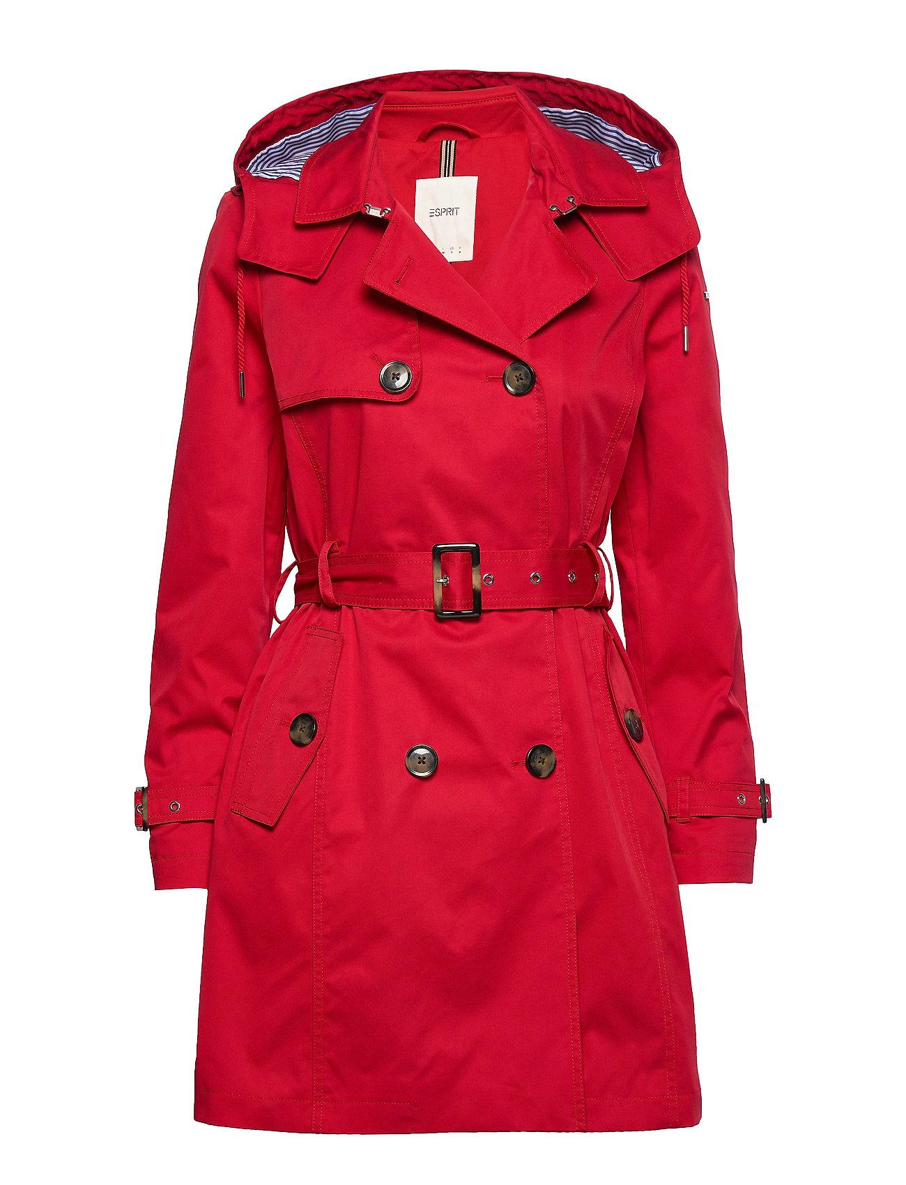 Coats Woven Esprit Casual Frakker til Kvinder i Is