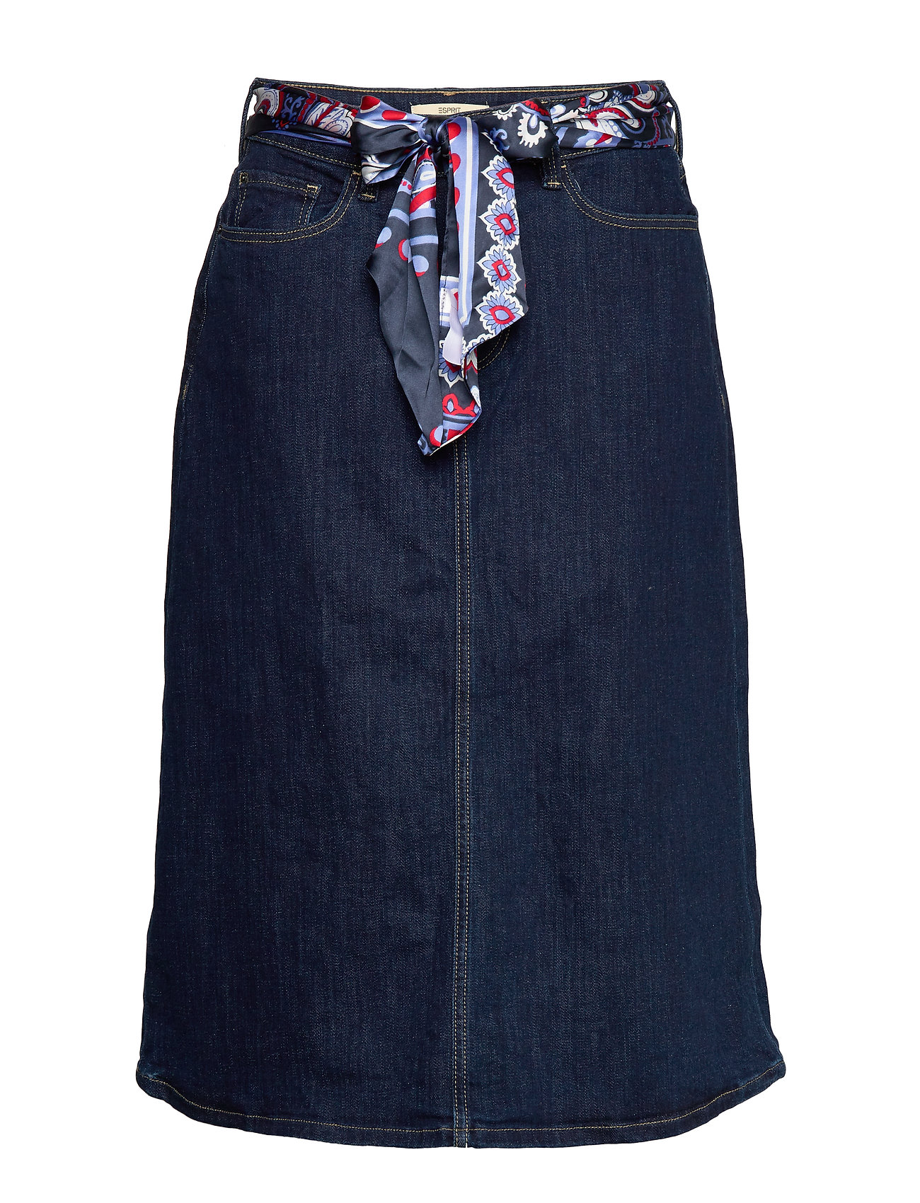 Esprit Casual Skirts denim - BLUE RINSE