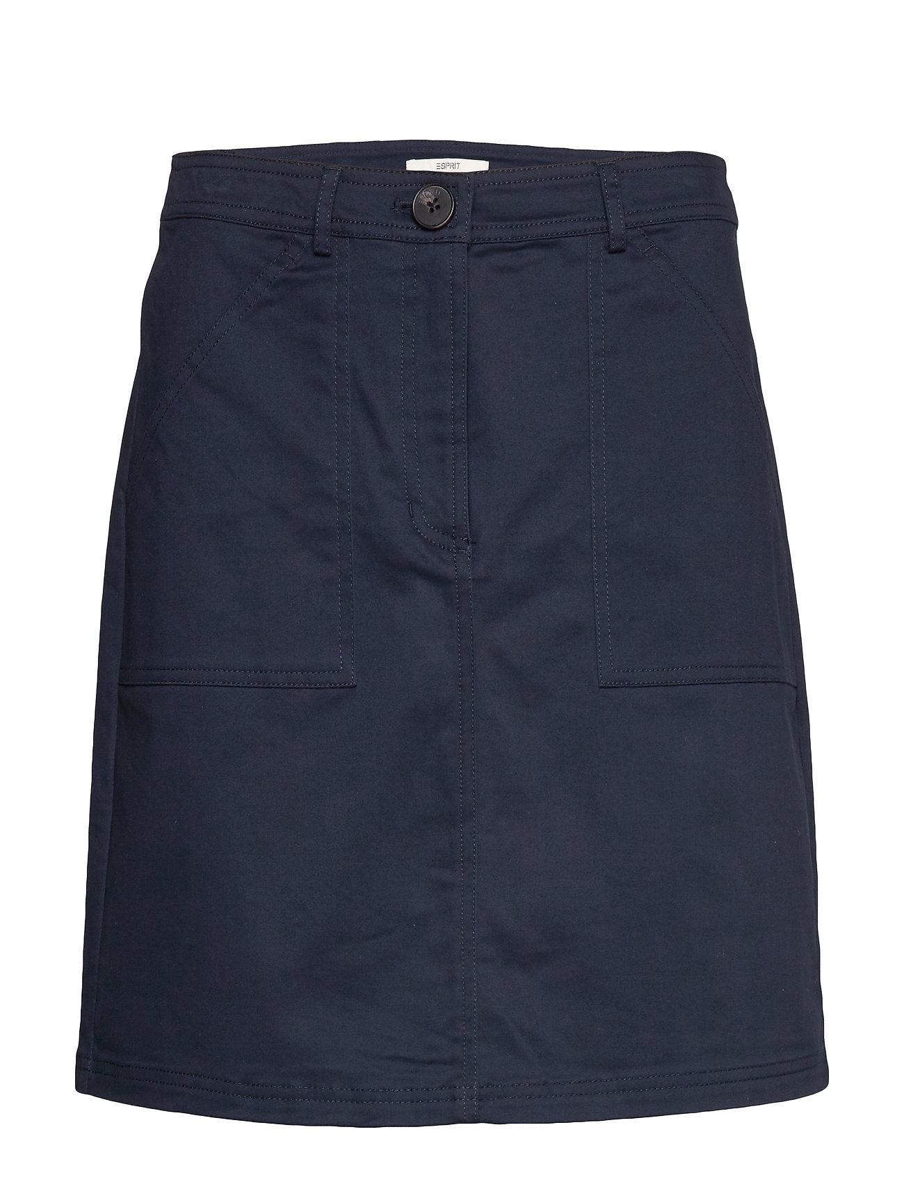 Image of Skirts Woven Kort Nederdel Blå Esprit Casual (3346637721)