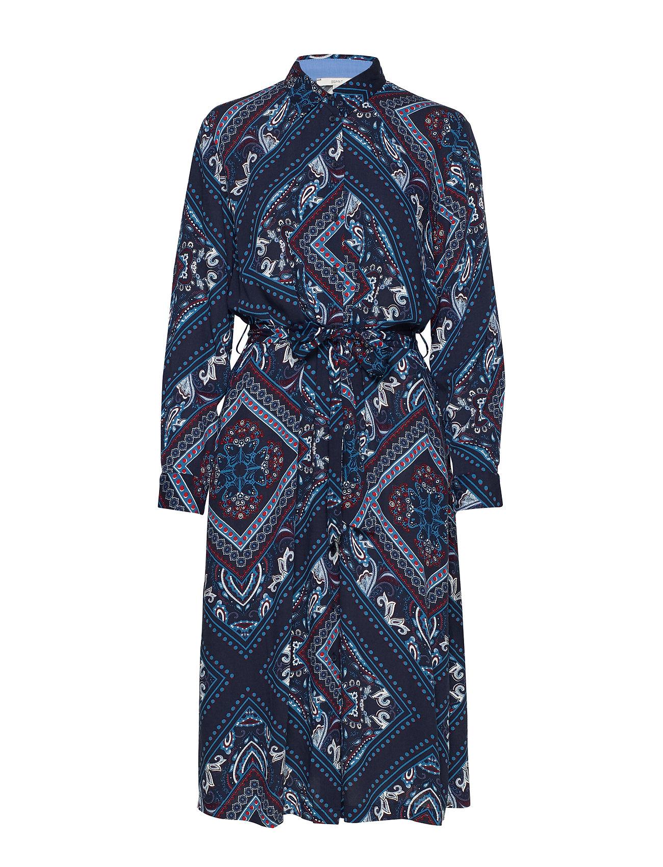 Esprit Casual Dresses light woven - NAVY 4