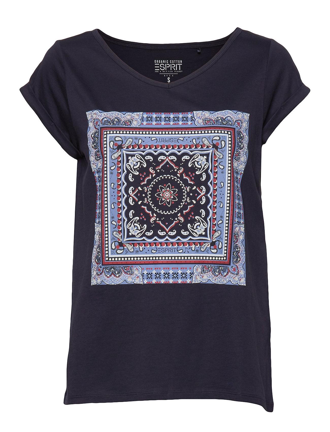 Esprit Casual T-Shirts - NAVY