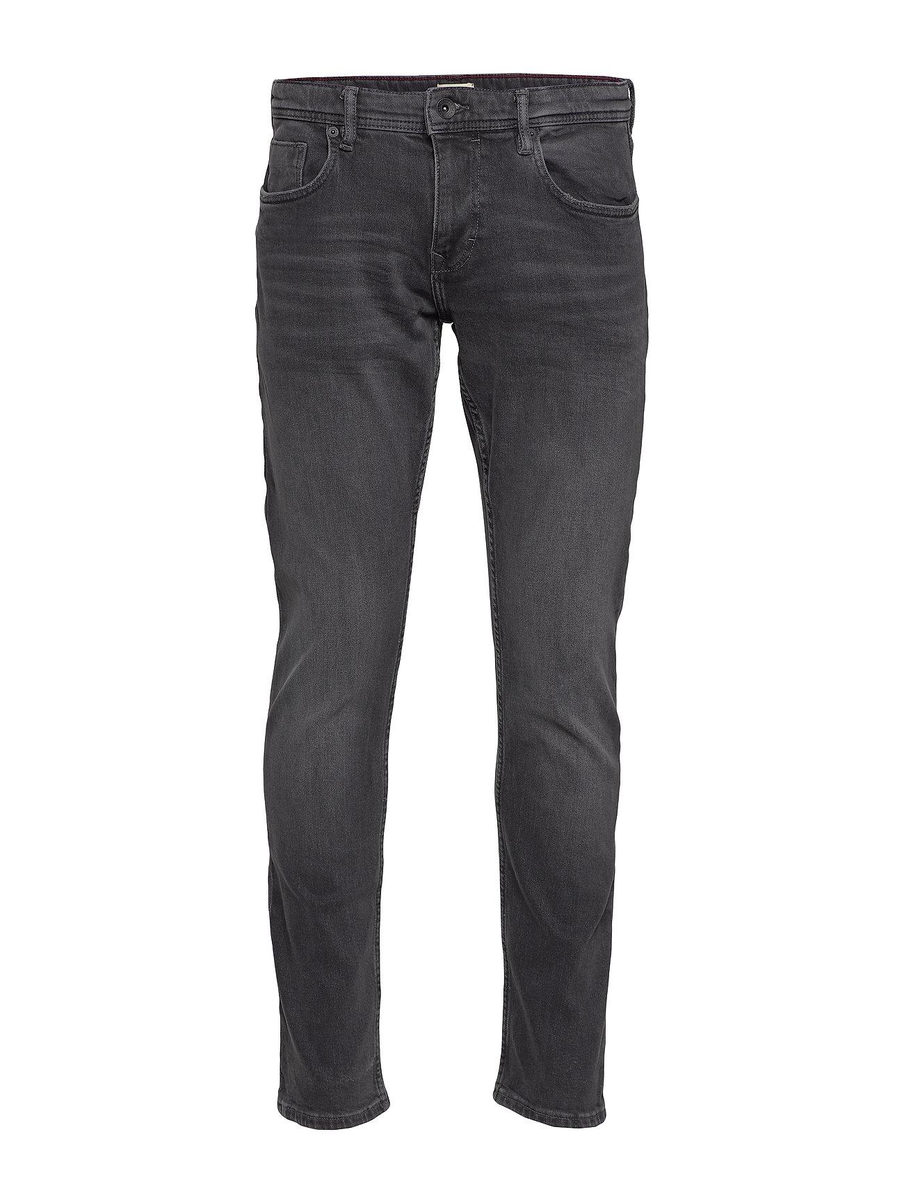 Esprit Casual Pants denim - BLACK MEDIUM WASH