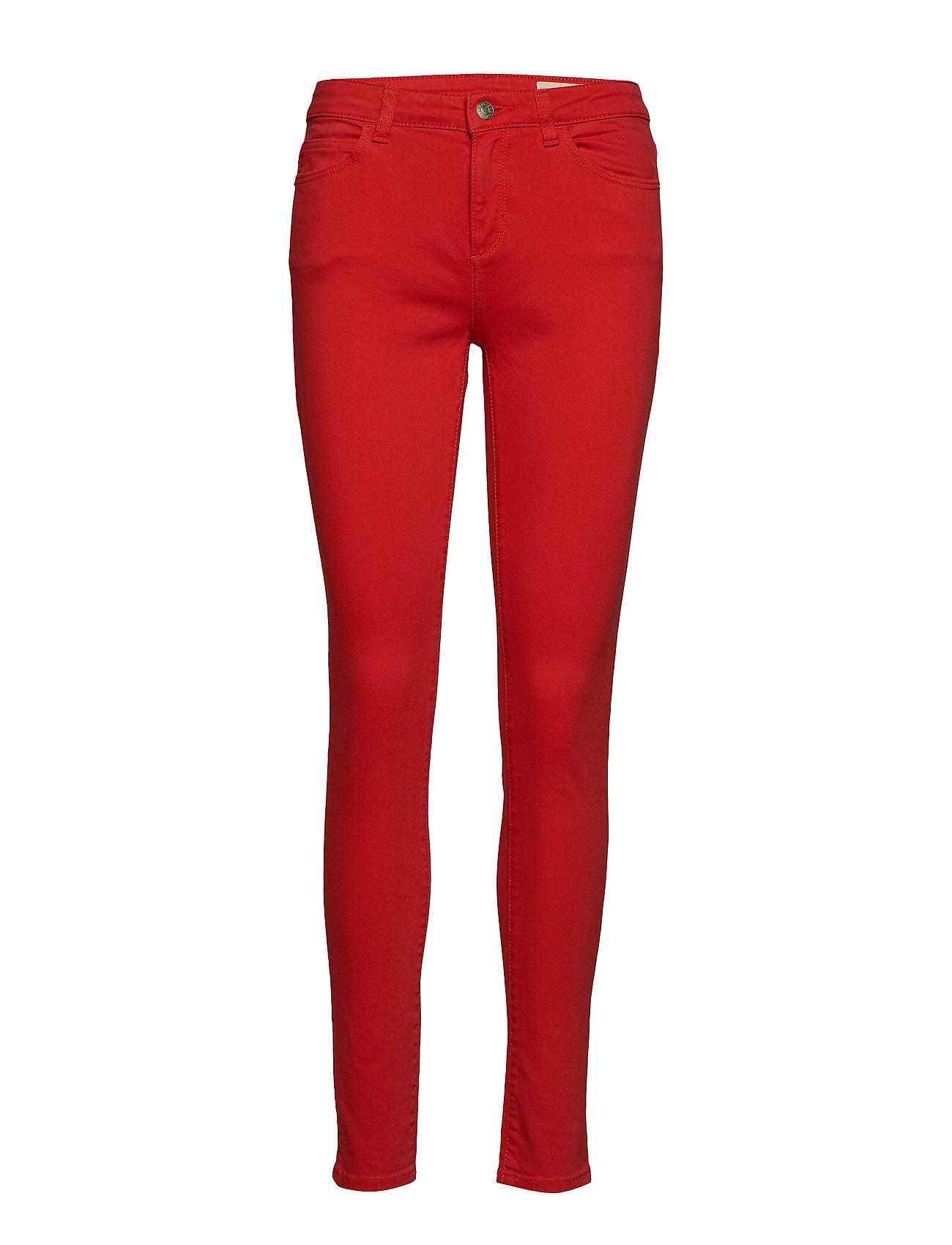 Esprit Casual Pants denim - RED