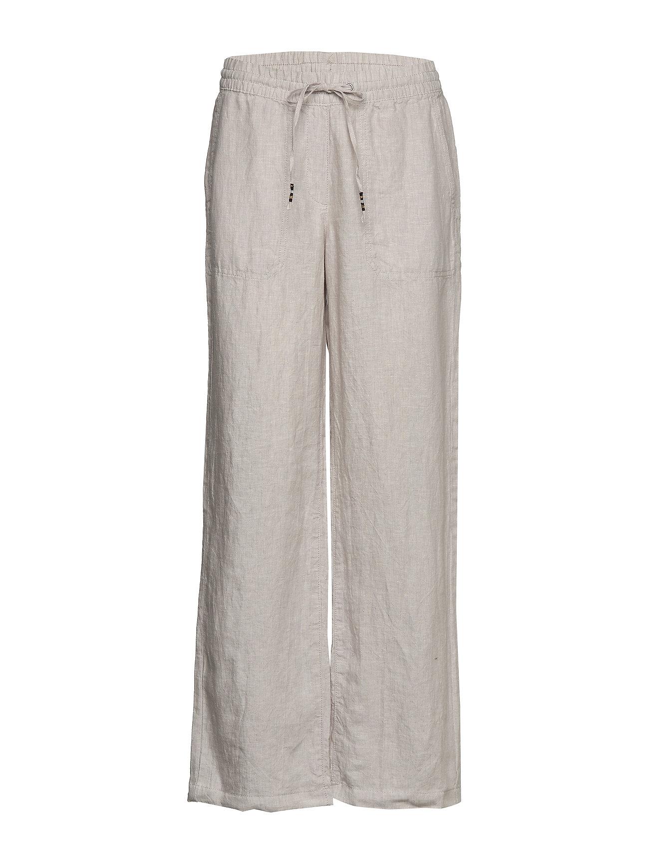 Esprit Casual Pants woven - LIGHT BEIGE