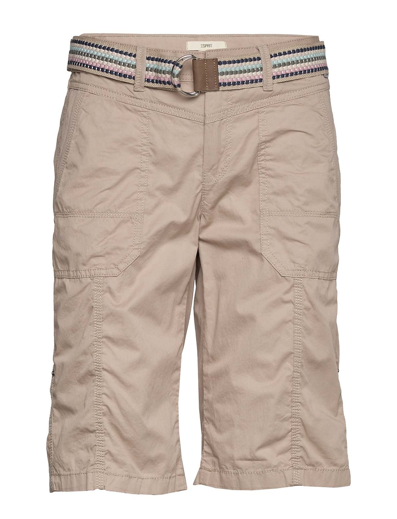 Esprit Casual Shorts woven - BEIGE