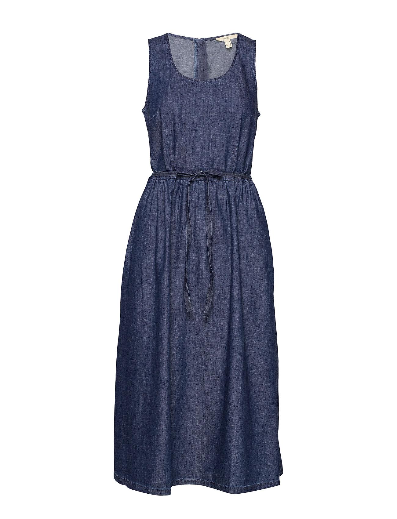 Esprit Casual Dresses denim - BLUE RINSE