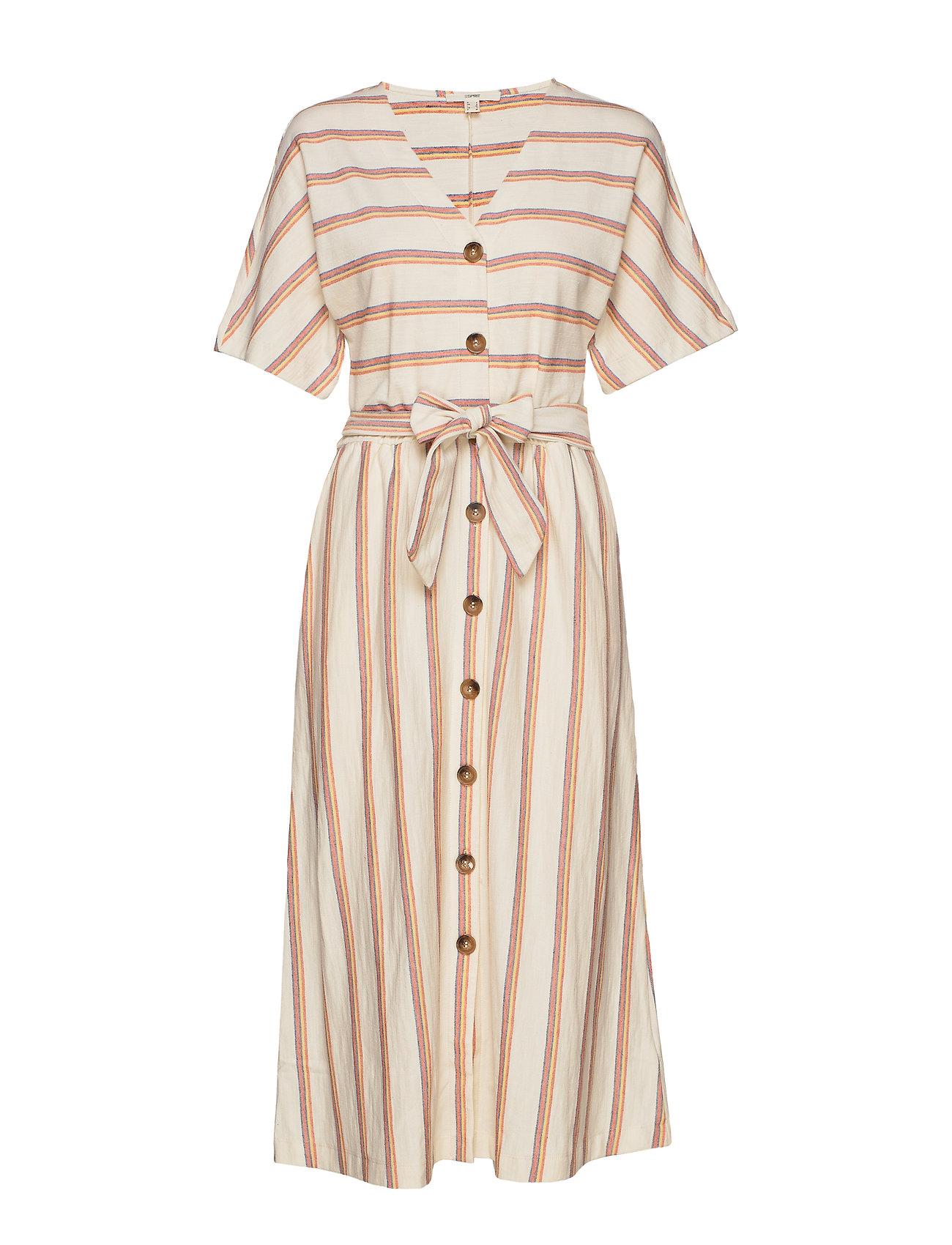 Esprit Casual Dresses knitted - RUST ORANGE