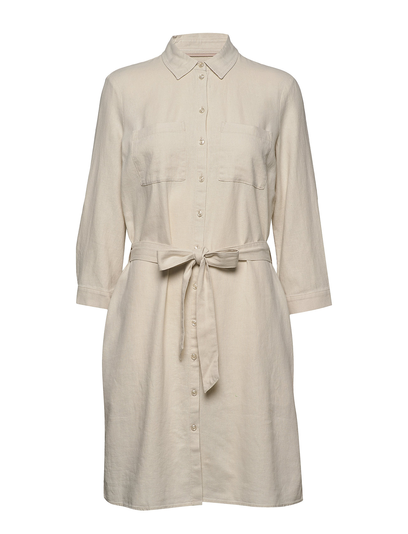 Esprit Casual Dresses light woven - SAND