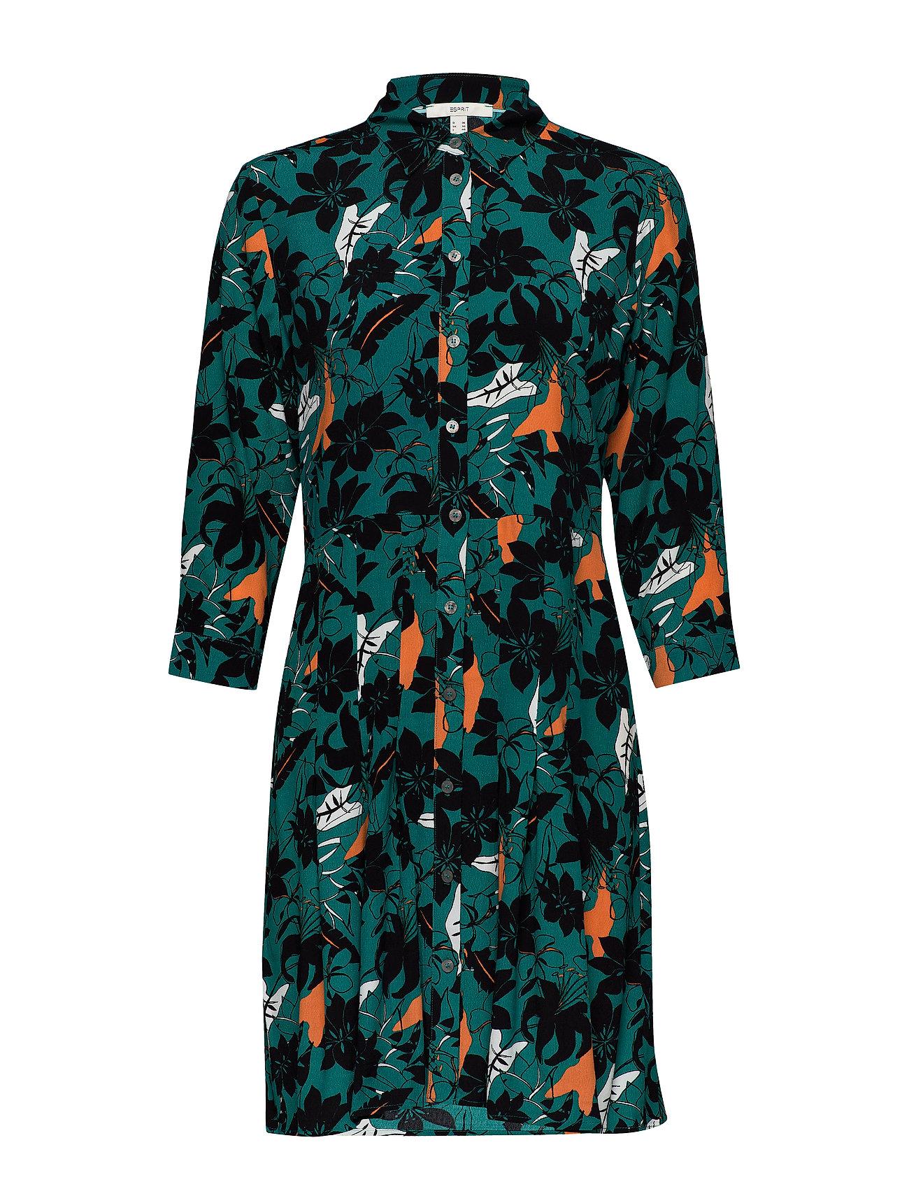 Esprit Casual Dresses light woven - TEAL GREEN
