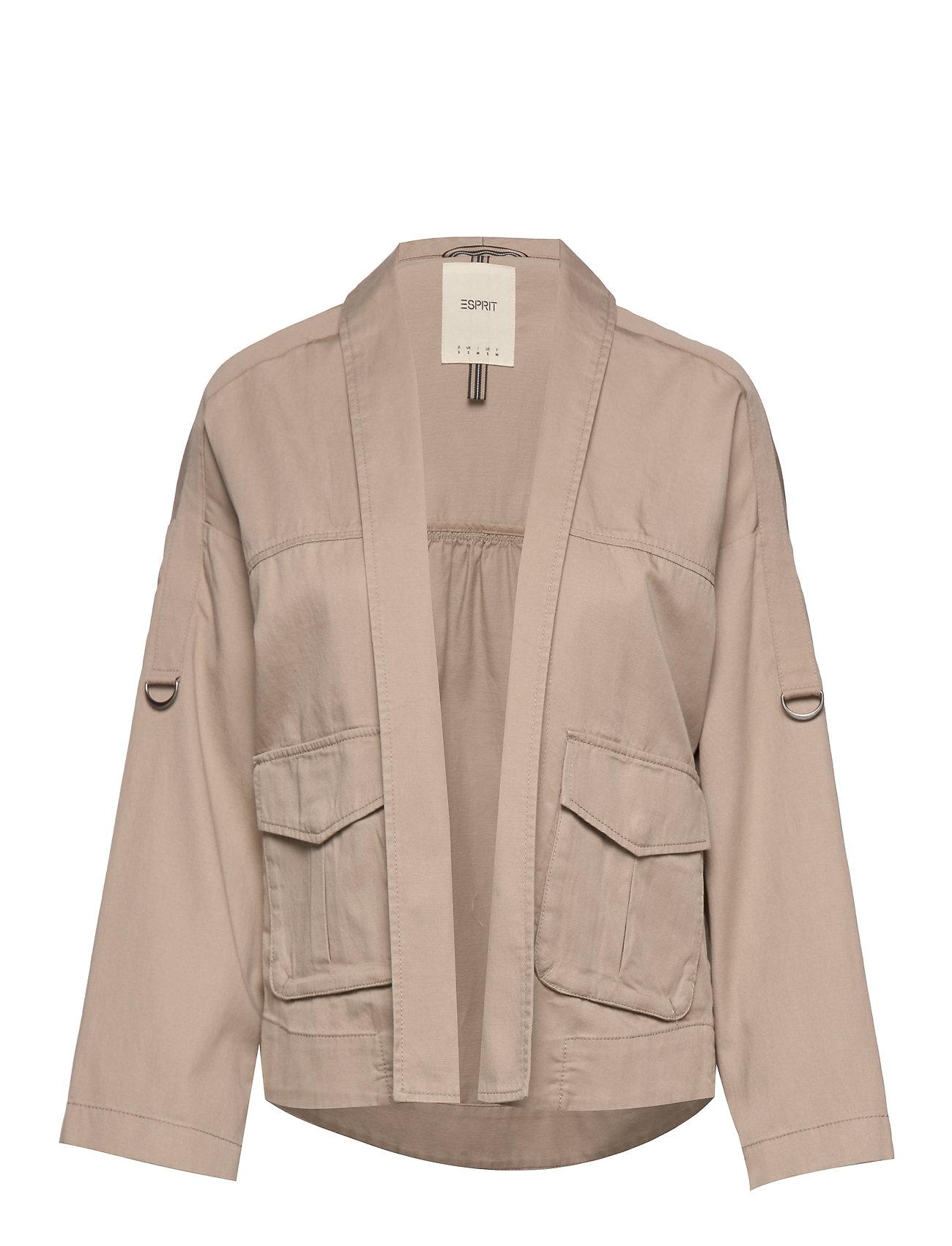 Esprit Casual Jackets indoor woven - BEIGE