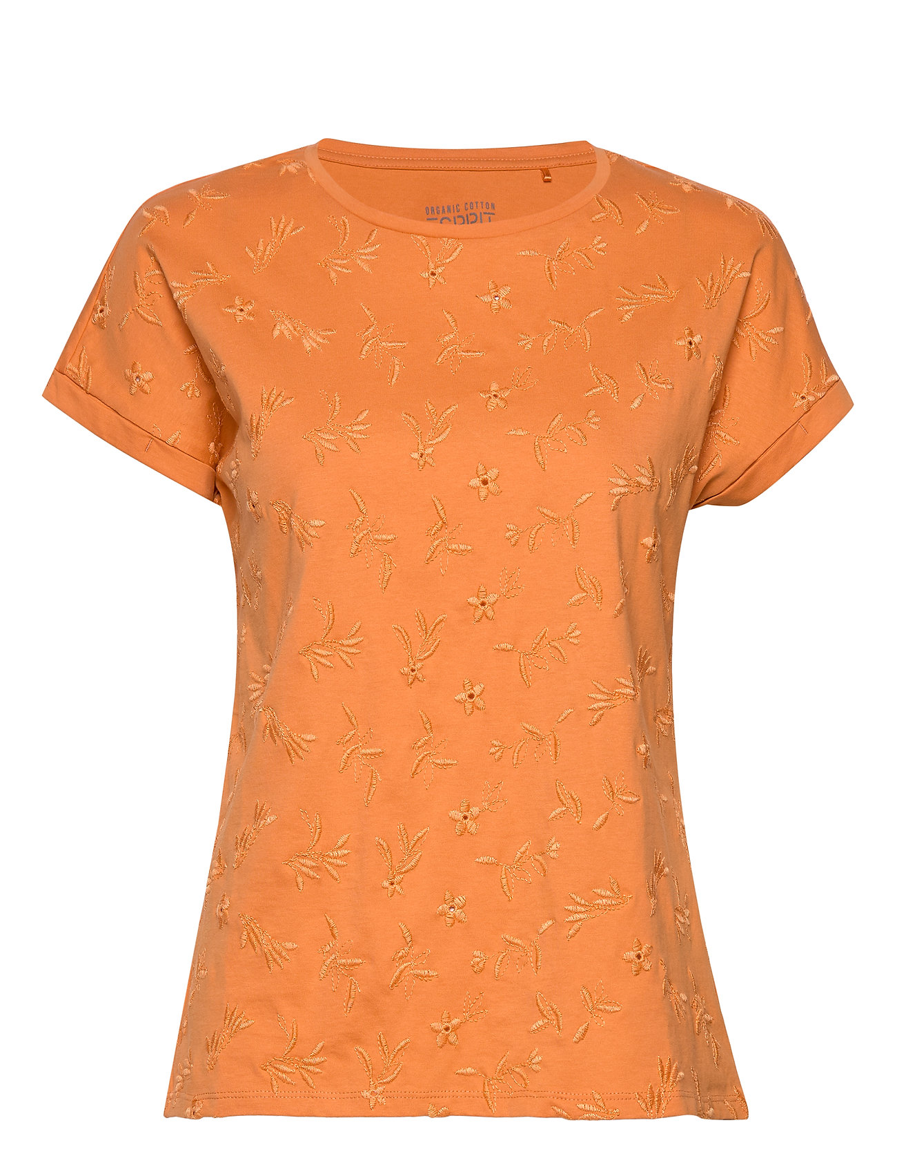 Esprit Casual T-Shirts - RUST ORANGE