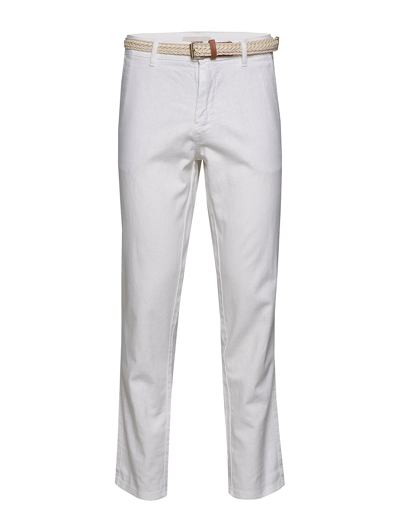 Esprit Casual Pants woven - WHITE