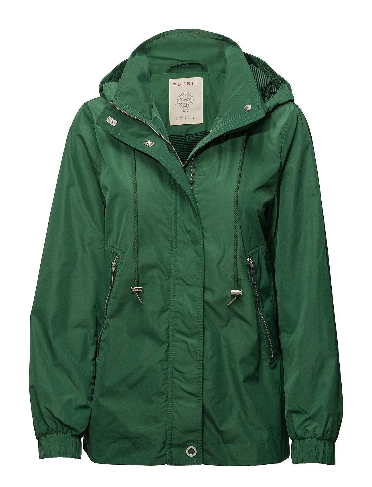 Esprit Casual Jackets outdoor woven - DARK GREEN