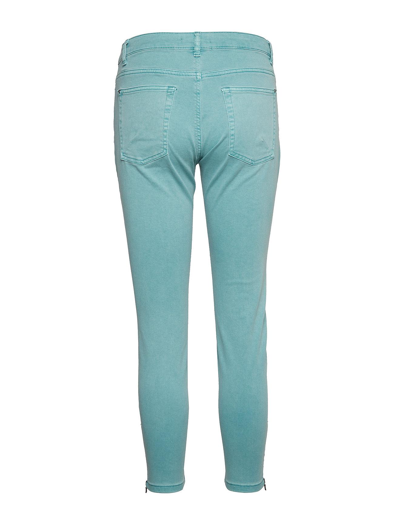 Esprit Casual - Pants woven - skinny jeans - light aqua green - 1